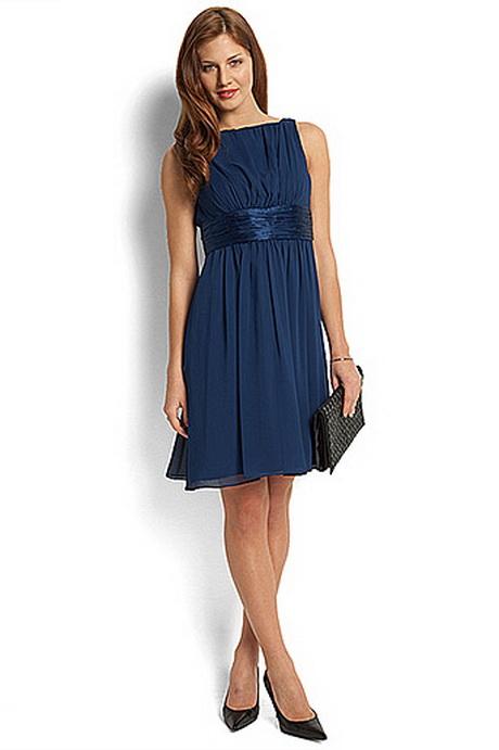 Blauwe jurk voor bruiloft