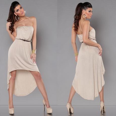 jurk lange achterkant