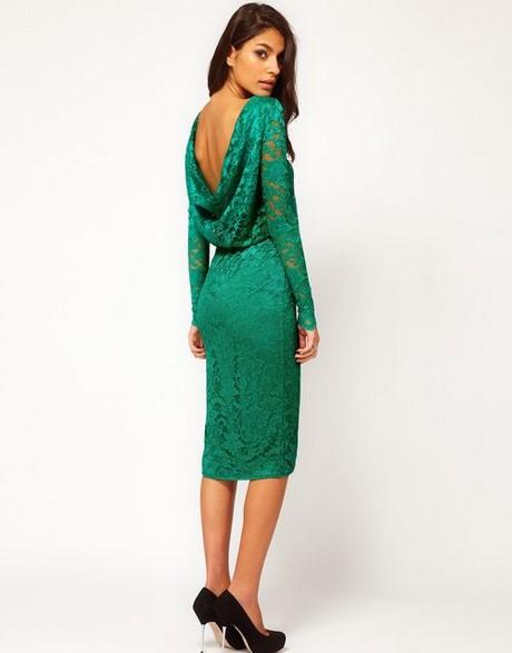groene gothic jurk