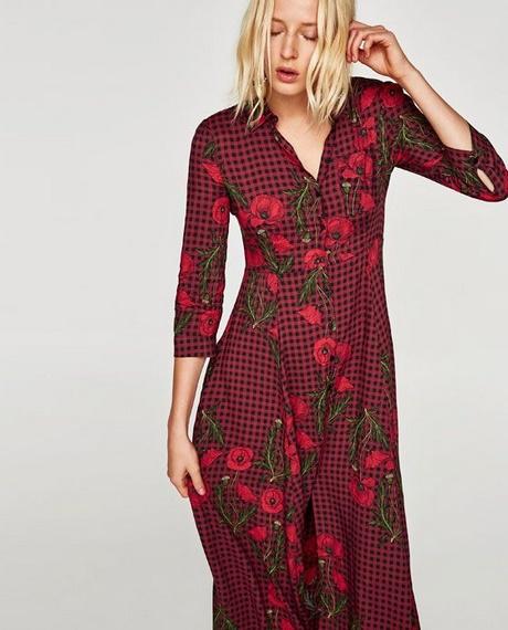 Geliefde Lange jurk zara #UY58