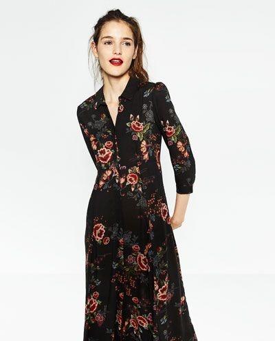New Lange jurk zara #YR38