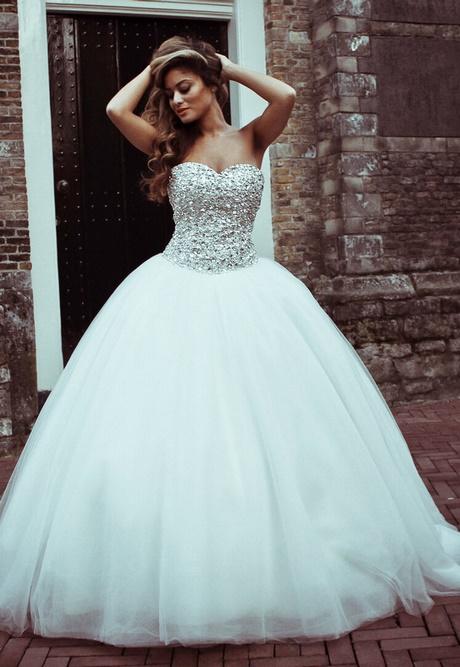 Voorkeur Bruidsjurk prinses model @QE91