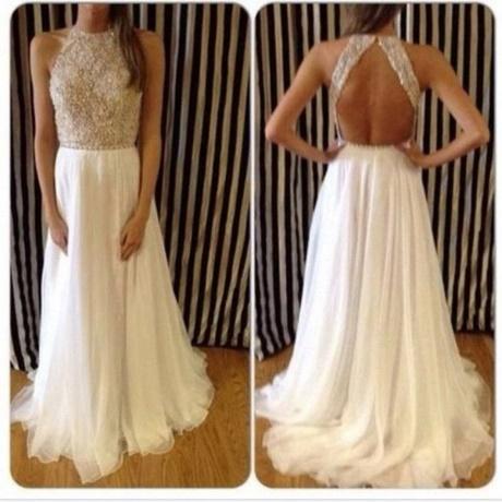 Lange nette jurk
