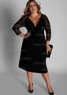 lange chique jurk